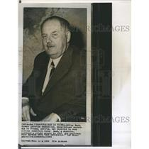 1964 Copy Photo 1958 Austrian Chancellor Julius Raab Politician
