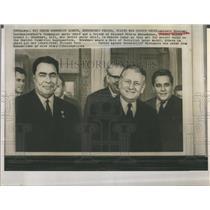1964 Press Photo Antonin Novotny Czech Communist Party Leader