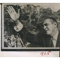 1963 Press Photo Rene Schick in Managua Nicaragua