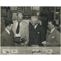 1946 Press Photo Raymond Firestone, Pres of Firestone Tire & Rubber Company