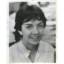 1984 Press Photo Senior-level Manager and Recruitment Margaret Maupln