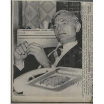 "1975 Press Photo Democrat Charles C ""Cliff"" Finch of Miss"