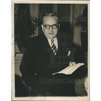 1948 Press Photo Greek Foreign Minister Constantin Tsaldaris