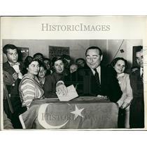 1957 Press Photo Prime Minister Adkar Mendres - KSG08353