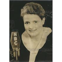 1944 Press Photo Mary Margaret McBride  NBC Radio Personatity