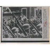 1961 Press Photo Generalissimo Francisco Franco celebrates 25 yr. rule in Spain