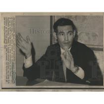 1973 Press Photo Douglas K. Ramsey, POW in South Vietnam. - RSC74615
