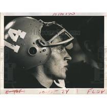 1970 Press Photo Boca Quarter Back Pete Ramsberger