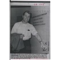 1966 Press Photo Light heavyweight boxer Wayne  Thornton