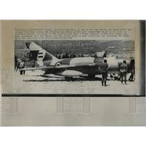 1968 Press Photo Syrian pilots defecting to Israel - RRW02459