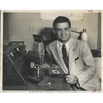 Press PhotoJim Harriott on WFLA TV radio - RSH98191