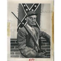 1959 Press Photo Colonel Col. Donald A. Ramsay Civil War Reinactor