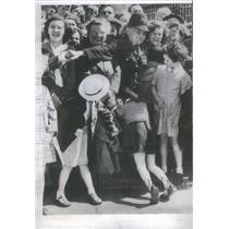 1952 Press Photo London/Police/Coronation/Queen Elizabeth II/England - RSC62271
