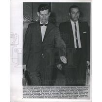 1963 Press Photo William Randall & Stephen Maxwell - RSC80323