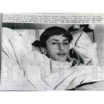 1964 Press Photo East German Refugee Lothar B.