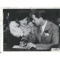 1936 Press Photo Ann Sothern American Film Tv Actress