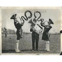 1931 Press Photo Music