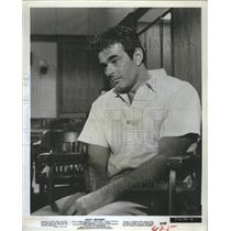 1964 Press Photo Actor Stuart Whitman stars in Shock Treatment.
