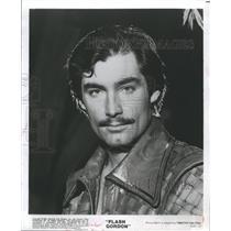 1980 Press Photo Actor Timothy Dalton Universal City Studios Movie Flash Gordon