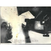 1975 Press Photo Charles Jahraus Fingerprints Diamond