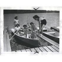 1939 Press Photo Major City Detroit River Midwest Wayne - RRR85895