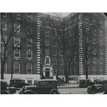 1931 Press Photo Hospital