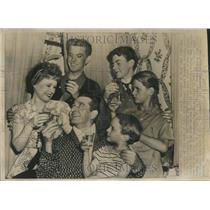 1947 Press Photo Play Television Series Crouse Day Book