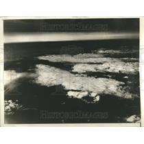 1932 Press Photo Aerial Shot Cumulus Clouds Fryeburg - RRR91065