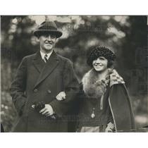 1922 Press Photo Frank Couzens Senator Son Michigan - RRR91261