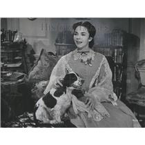 1957 Press Photo Jennifer Jones Phylis Lee Isley Actres