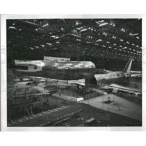 1971 Press Photo Boeing Company Plant Everett Million - RRR94451