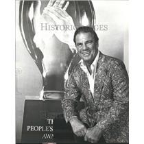 1980 Press Photo Bert Parks Bertram Jacobson Actor Sing