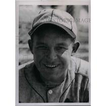 1936 Press Photo St. Louis Cardinals' Brusie Ogrodowski at spring camp in FL