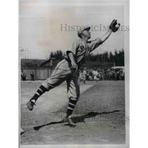 1934 Press Photo William M. Urbanski, Infielder of Boston Braves.