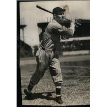 1933 Press Photo Yankees 2nd Baseman Bill Knickerbocker - nea02014