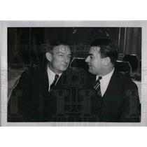 1938 Press Photo ML Baseball meeting, Bill McKechnie & Jim Wilson - nea04793