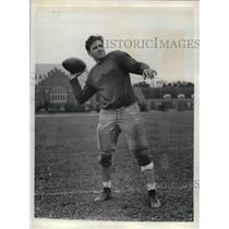 1934 Press Photo Candidate for Dartmouth quarterback Tony Genawicz