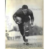 1931 Press Photo Purdue U . halfback, James Purvis - nea13090