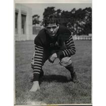 1932 Press Photo U of Calif. football tackle, Milo S. Mallory