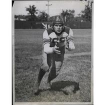 1933 Press Photo Northwestern Wildcats Quarterback Roy Auguston - nea13942