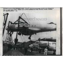 1961 Press Photo Leningrad USSR planes