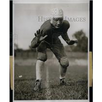 1933 Press Photo NY Univ. football, Orrin Mertz