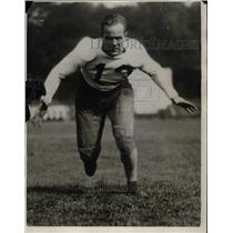 1930 Press Photo Bud Hansen, Guard of Washington State College Football Team.