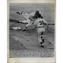 1948 Press Photo Harry Breechen St. Louis Cubs Dick Culler - nea19077