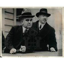 1916 Press Photo Tom Mooney in custody in Calif. for a bombing - nea20103