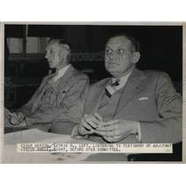 1938 Press Photo Edgar Herzog Listens To Testimony From Lester Abele - nea36586