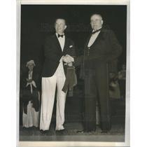 1936 Press Photo Edgar Lee Masters Playwright Author - RSC79755