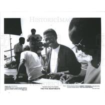 """press photo Writer producer and director Robert Townsend """"The Five Heartbeats"""""""