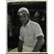 1935 Press Photo Indianapolis 500 Motor speedway, Stubby Stubblefield