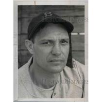 1939 Press Photo Joe Heving of the Boston Red Sox